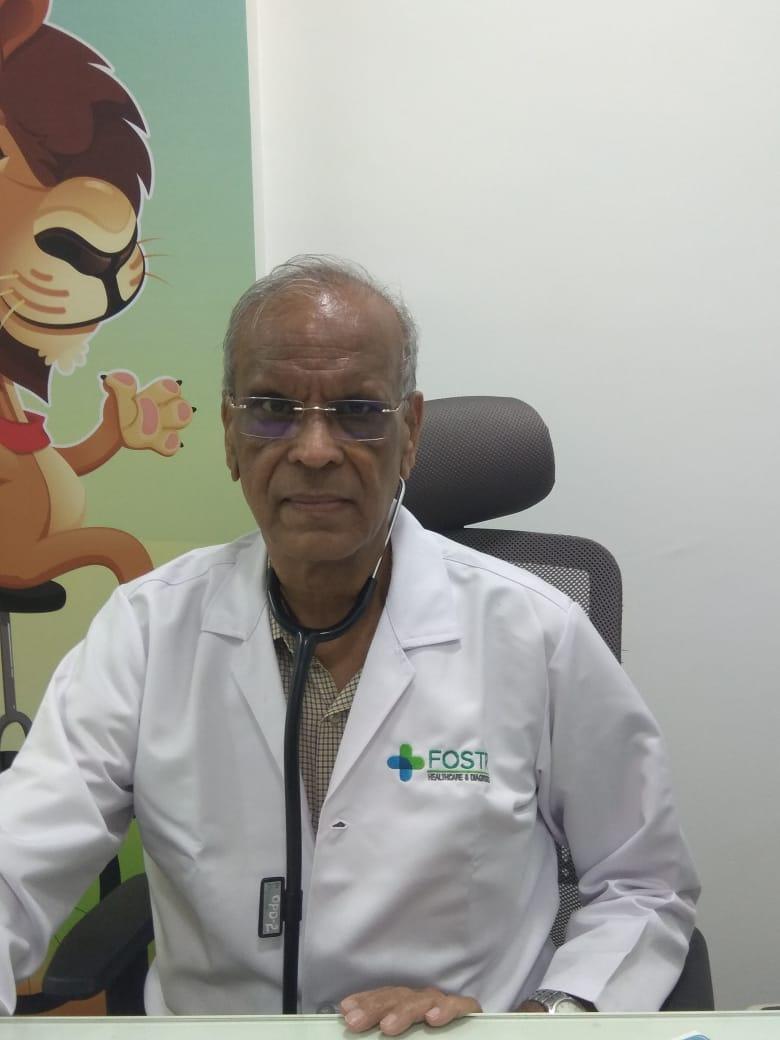 Dr. Prasanna Betala, consultant Pediatrician at Fostr Healthcare, Panathur, Bangalore